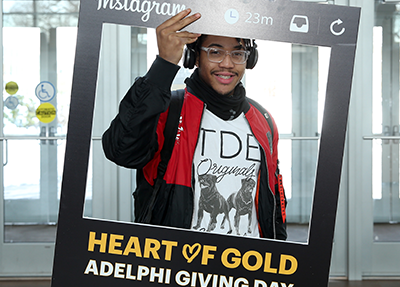Giving Day at Adelphi